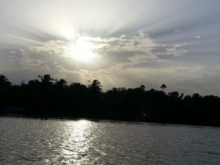Sunrise in Trivandrum