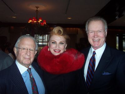 Laurence C. Leeds, Jr., Georgette Mosbacher and
