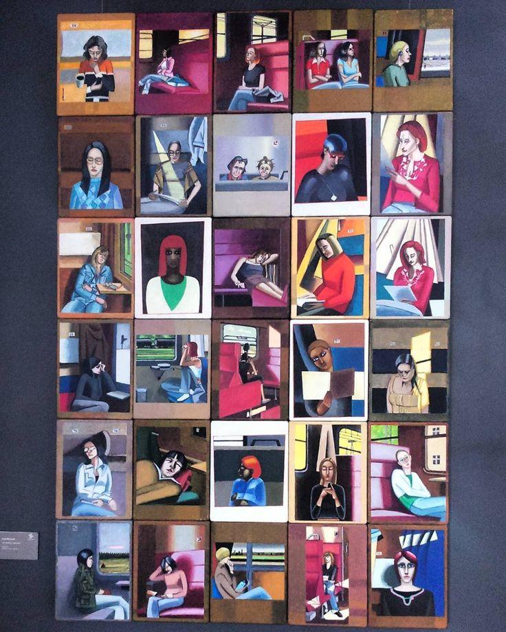 CYKL PODRÓŻNE  Jacek Dłużewski #encek #kulturaKRK #art #exhibition #nck  #painting #travel #minimalism #igerskrakow Olej na płótnie 25x19 -lata 2006 -2007
