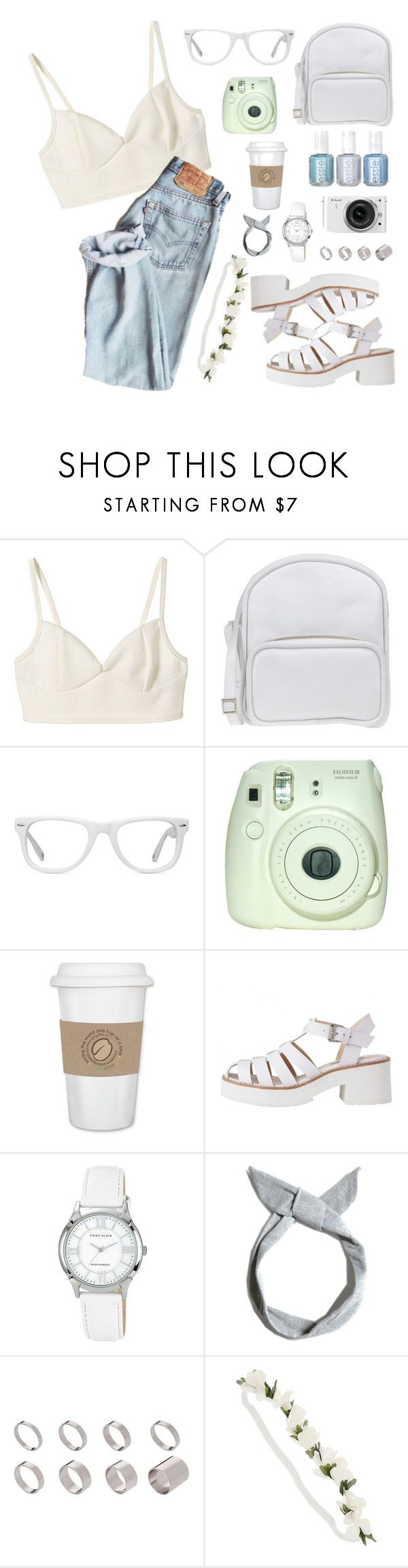 """""""sometimes"""" by marianalves on Polyvore featuring Jil Sander Navy, Muse, Fuji, Chanel, WALL, Anne Klein, Pull&Bear, Nikon and ASOS"""
