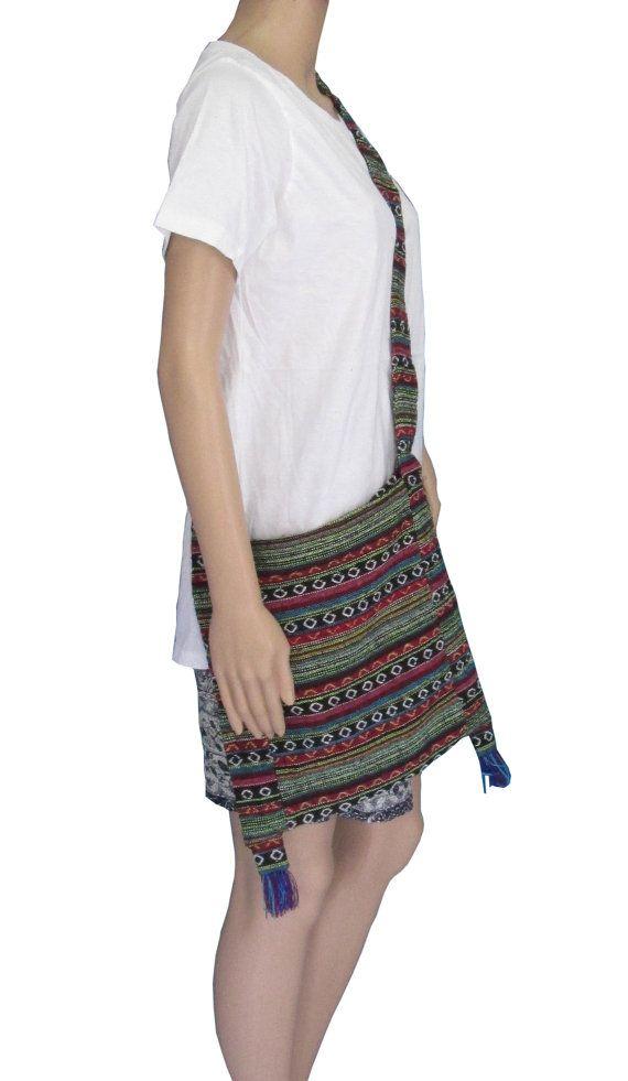 Hill Tribe Bag Hippie Bag Sling Bag Shoulder Bag Thai by rockbox99