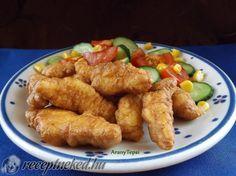 Kipróbált Csirkecsíkok fokhagymás-tejfölös bundában recept egyenesen a Receptneked.hu gyűjteményéből. Küldte: aranytepsi