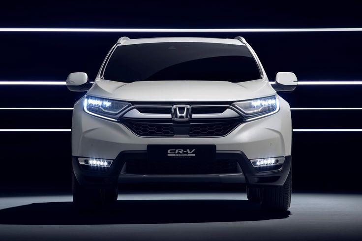 new honda suv | Hybridised Honda SUV: new CR-V Hybrid Prototype hits ...