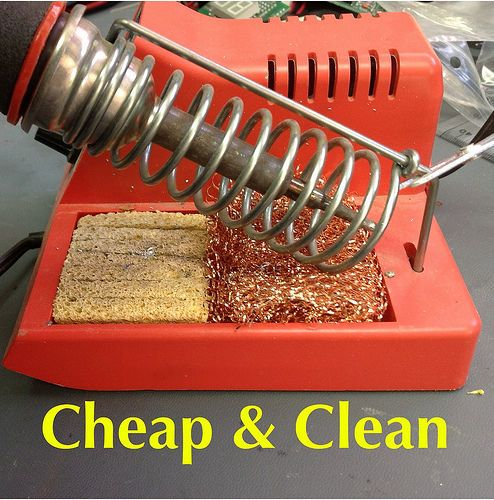 DIY Solder Tip Cleaner