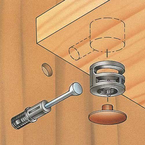 Cam lock screws