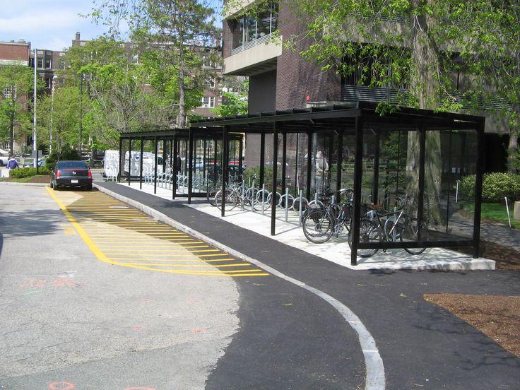 Full Bike Shelters : Bike shelter harvard university g