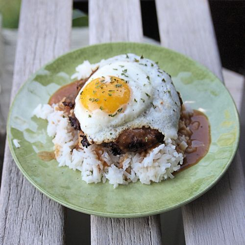 Loco Moco - Hawaiian comfort food -  The Best Breakfast in the world that doesn't contain bacon.