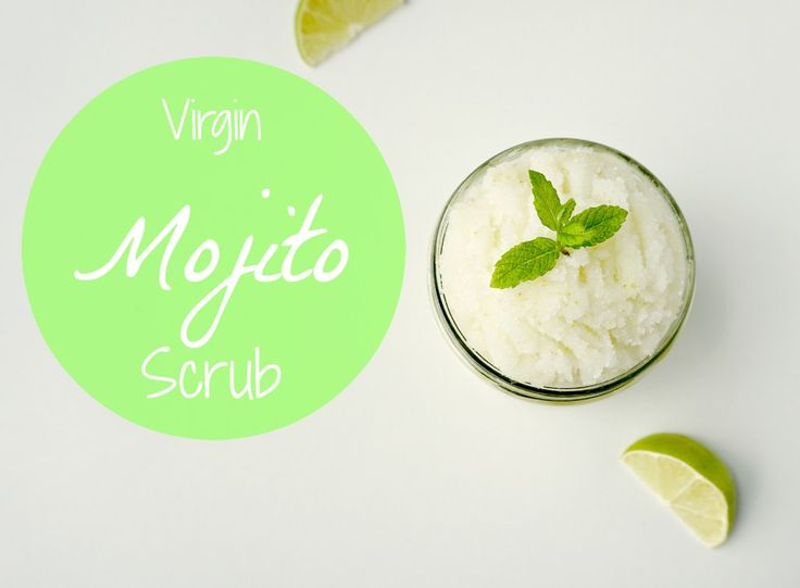 How to make your own easy virgin mojito body scrub with coconut oil and lime. A perfect gift for summer. A DIY by The Makeup Dummy