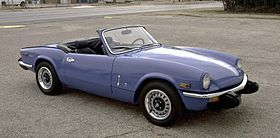 Triumph Spitfire: a freedom machine  Mine was navy blue with black top, 1971 Mark IV model