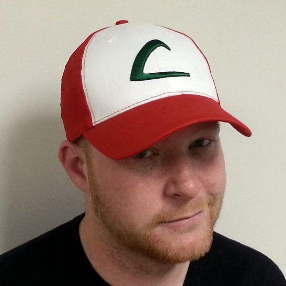 Ash Ketchum Adult Baseball Cap Original Pokemon by MyPartyShirt