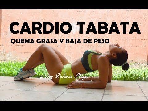 Tabata Para Adelgazar y quemar grasa, Cardio - Entrenamiento 258 - Dey Palencia Reyes - YouTube