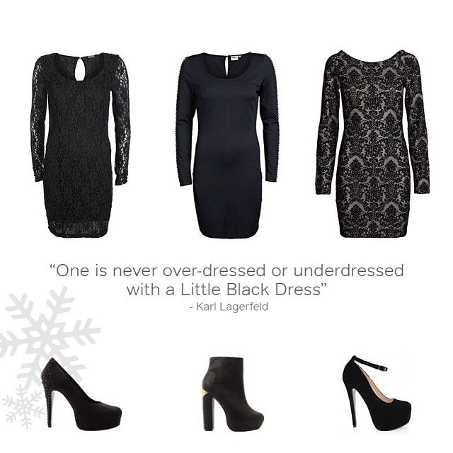 One is never overdressed or underdressed in a little black dress- do you have the perfect one