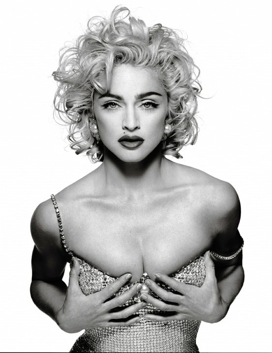 Madonna by Patrick Demarchelier 1990