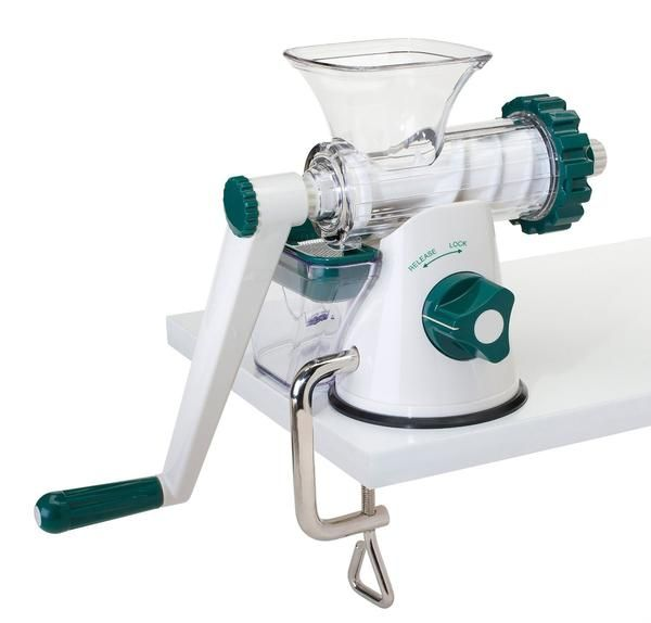 Healthy Juicer, the affordable manual wheatgrass juicer Features &amp…