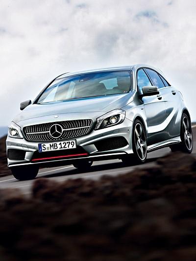 Mercedes-Benz A-Class http://www.autorevue.at/best_of_test/modellvorstellung/mercedes-benz-a-klasse-test.html A-Klasse