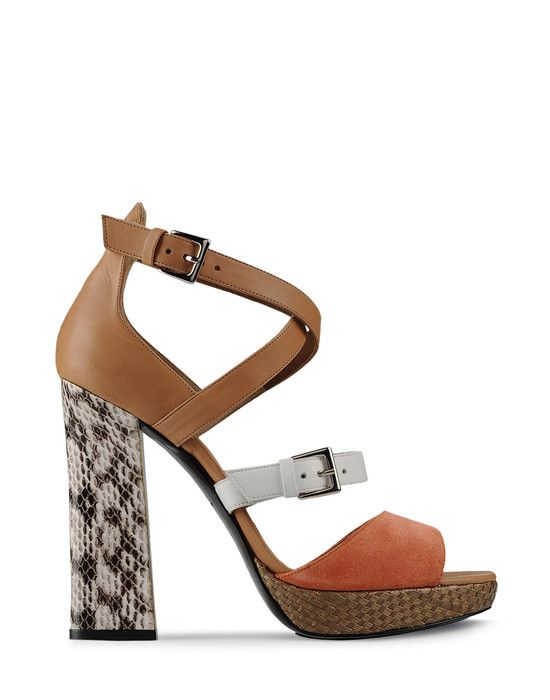 Tricolor Sandals by Barbara Bui
