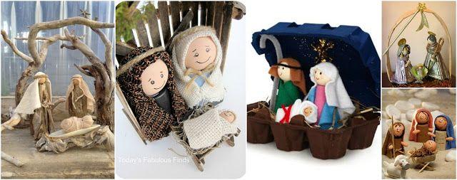 Los 14 nacimientos navideños más originales hechos a mano ~ Belleza y Peinados