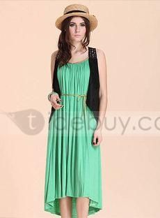 Luxury Solid Color Maxi Dress : Tidebuy.com
