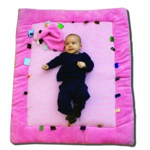 Snoozebaby Mata do zabawy kolor różowy