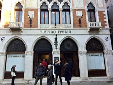 The Most Beautiful Supermarket in the World? Teatro Italia Morphs into Despar in Venice