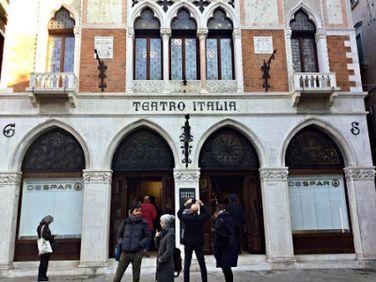 The Most Beautiful Supermarket in the World? Teatro Italia Morphs into Despar in Venice