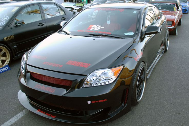 Christian Islas' Custom 2007 Scion tC was on display at the 2011 SEMA Show