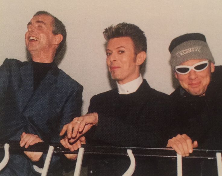 David Bowie with the Pet Shop Boys, Feb 1996