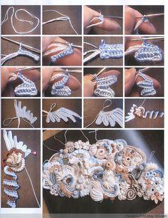 Freeform crochet - It's like a crochet zentangle!!!  I've gotta try it!!