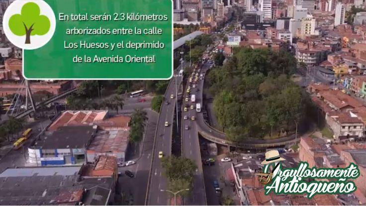 Adiós a las pirámides en la Av Oriental, Medellín verde para vos - Orgullosamente Antioqueño