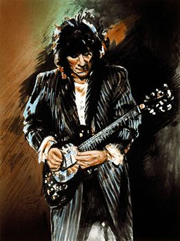 Ronnie Wood Art Exhibition