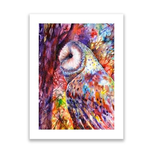 Colors of the Wild Print by zaira-art-gallery at zippi.co.uk