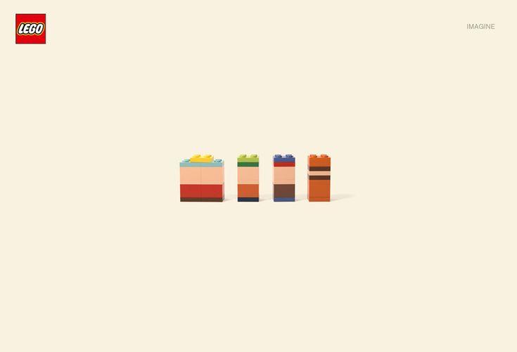 Lego campaign, by Jung von Matt