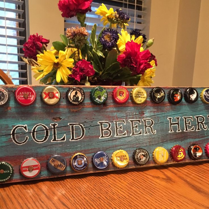 Best 20 beer bottle caps ideas on pinterest beer caps for How to make a table out of bottle caps