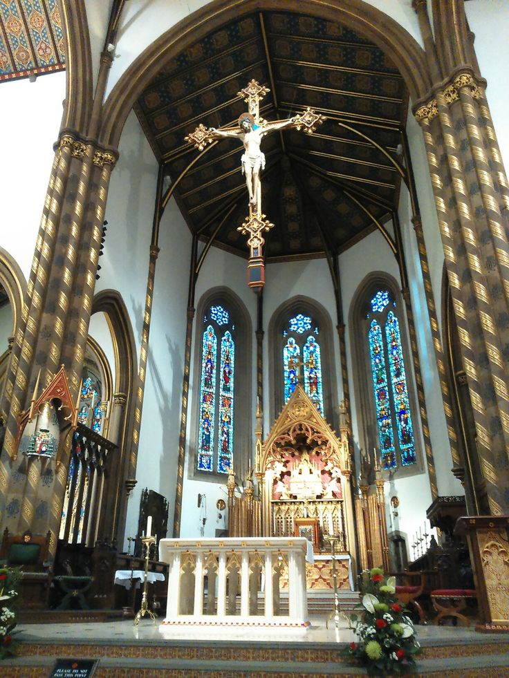 High Altar, St.Chad's Cathedral Birmingham