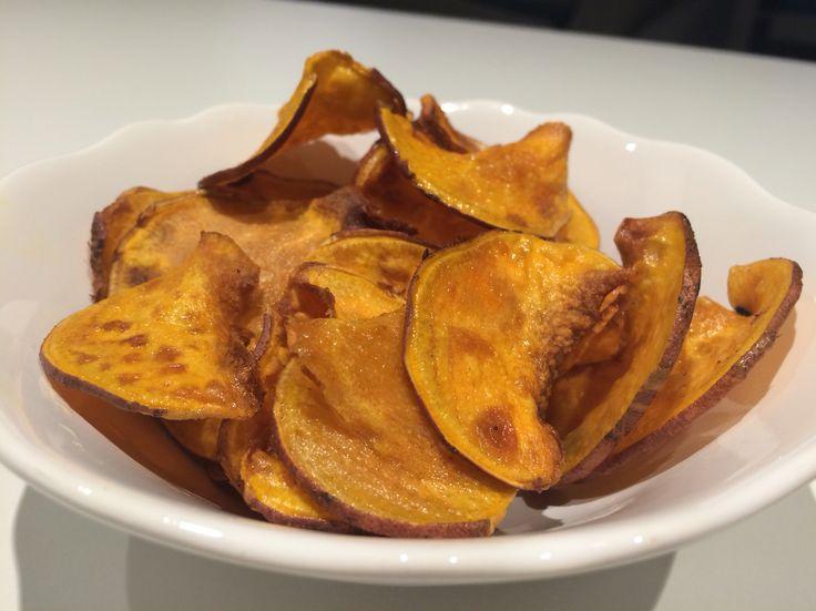 Sweet potatoes chips