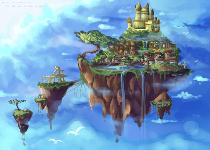 ___background_practice___floating_island____by_kurama_chan-d50csqn.jpg 1181×843 pixels