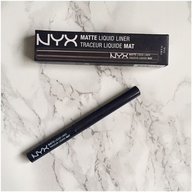 REVIEW: NYX Matte Liquid Liner.