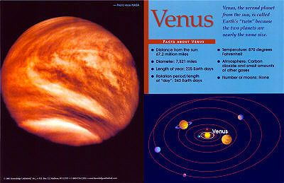 Planet Venus Facts | Emma | Pinterest
