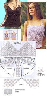 Una hermosa blusa para el siguiente verano !