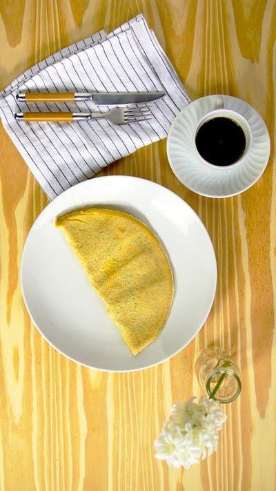 Perfeita para um café da manhã ou lanche nutritivo, essa aveioca é super simples e deliciosa.