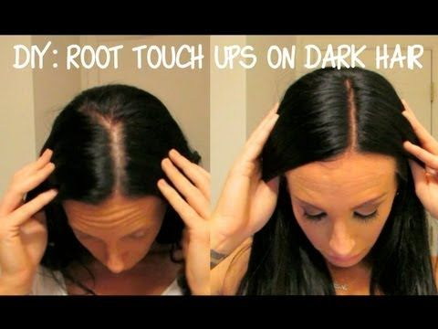 DIY: Root Touch Ups On Dark Hair