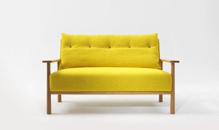 Mustard Yellow Lounge, Archie Sofa from Jardan