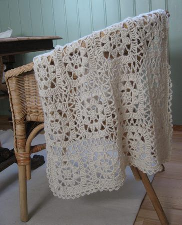 Crocheted baby blanket | Flickr - Photo Sharing!