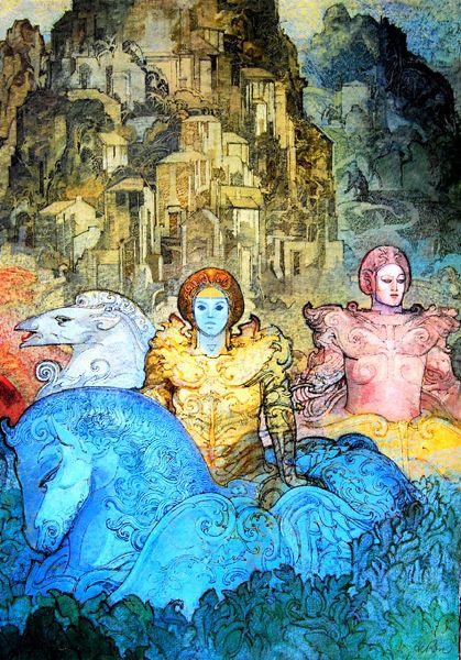 Catawiki, pagina di aste on line  Raffaele De Rosa - Il mito e la visione (5 litografie)
