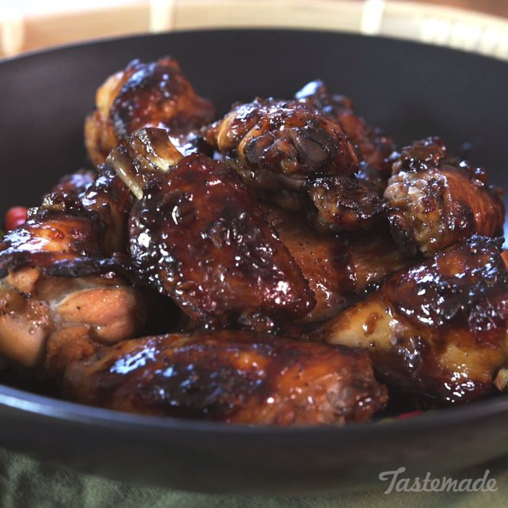 These Filipino adobo wings will send your taste buds flying!