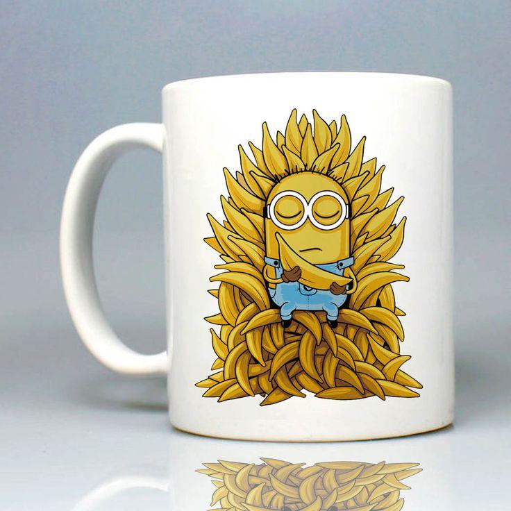 Minion Gmae Of Thrones Mug 11oz Ceramic