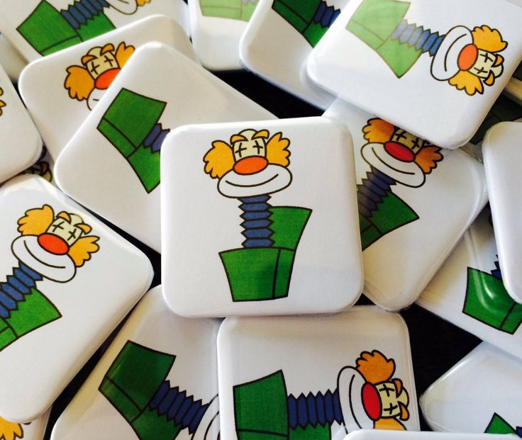 "Quickbadge on Twitter: ""#love this #design on our #square #button #pin #badges made us #smile #WineOclock #FlockBN #uksmallbiz #womeninbiz  https://t.co/VH9WaMuYLR"""