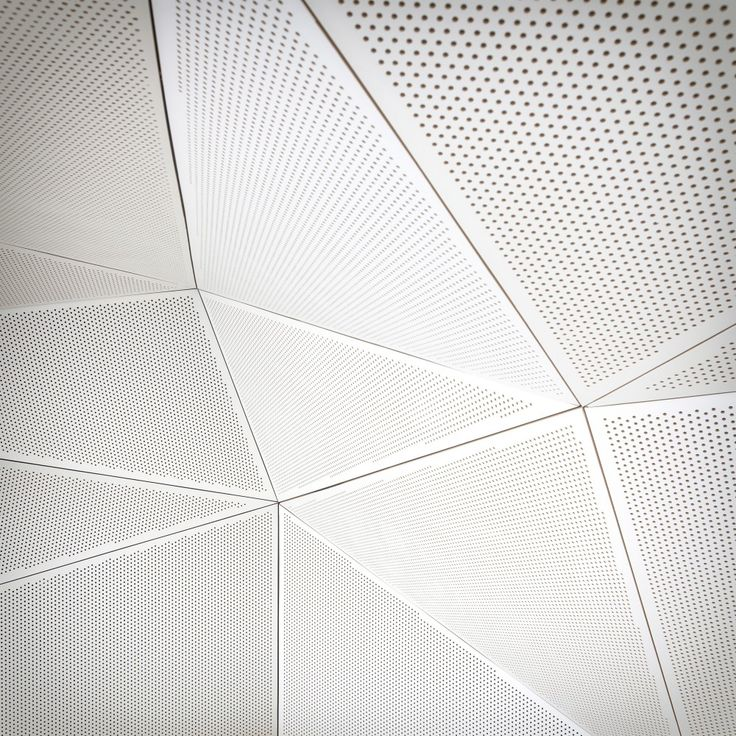 Perforated metal panels for interior / exterior facades