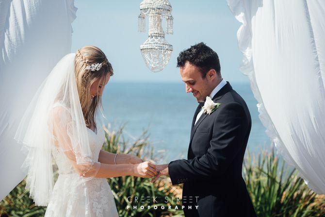 Long Reef Golf Club - wedding ceremony - rings