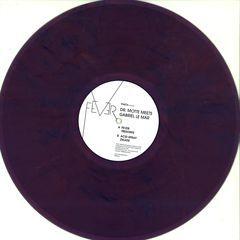*** Limited Colored Vinyl & Hologram Label Sticker *** dr. motte meets gabriel le mar - fever ep - praxxiz / prz018